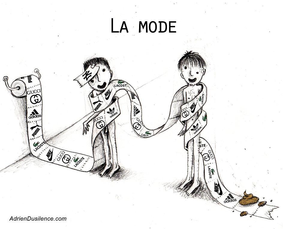 La mode | Les marques | Vetements | puma | nike | addidas | Gucci | Adrien Dusilence