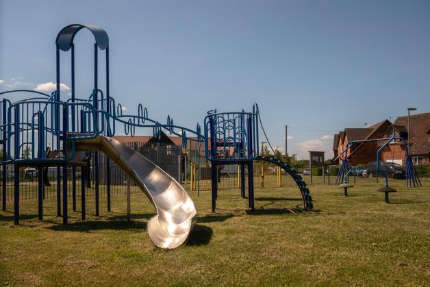 Abandoned playgrounds