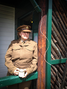 WW2 re-enactment
