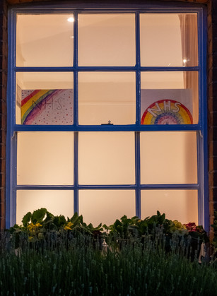 Rainbows at night
