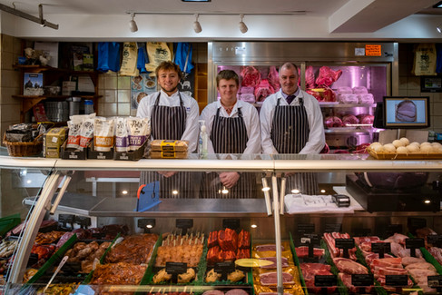 The A-team at the Wakelings Butchers