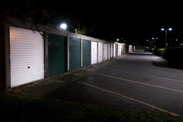 Empty car parks