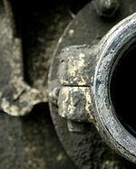 tubo di metallo