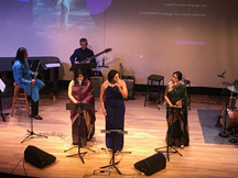 Performing at the Taplin Hall