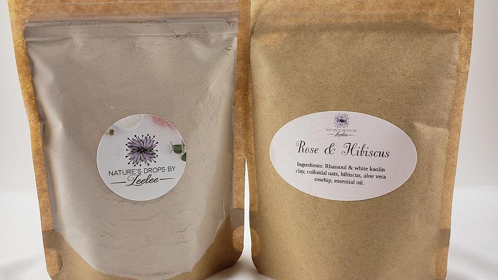 Rose & Hibiscus Face Mask (Sensitive)