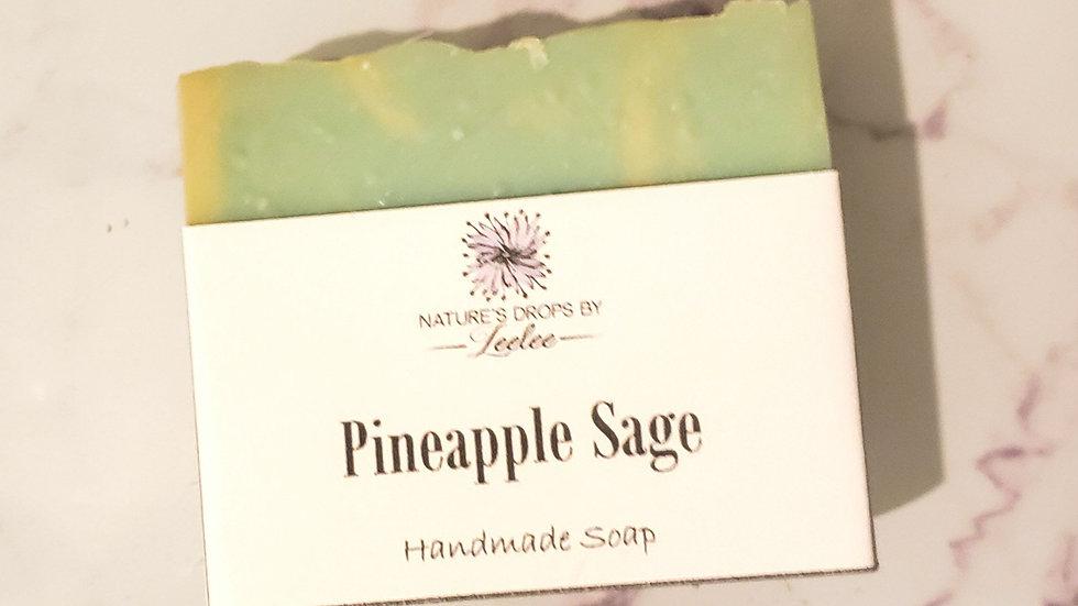 🍍 Pineapple Sage bar soap