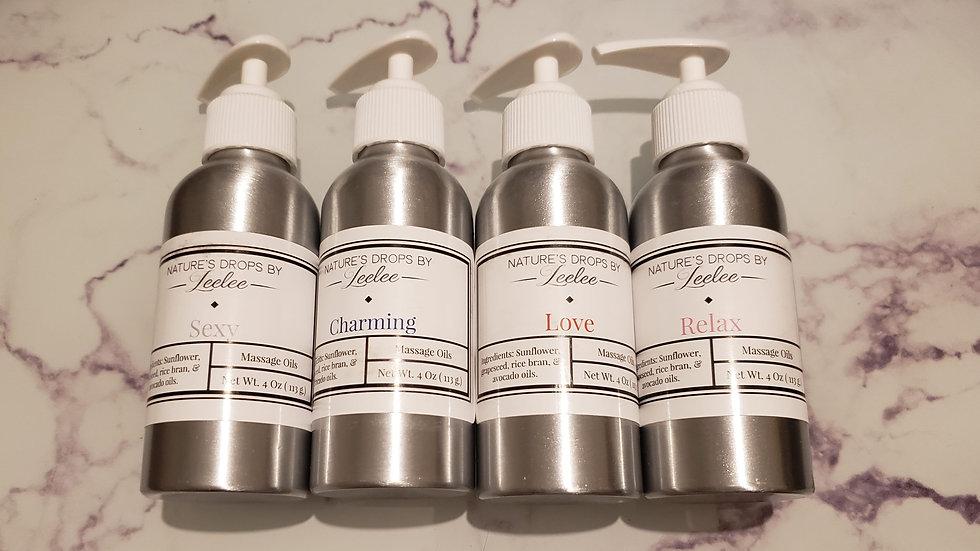 Massage oil  (body oil )