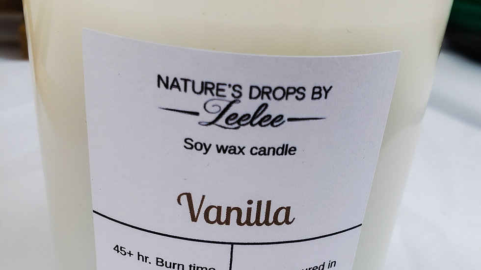 Vanilla Soy Candle 8oz