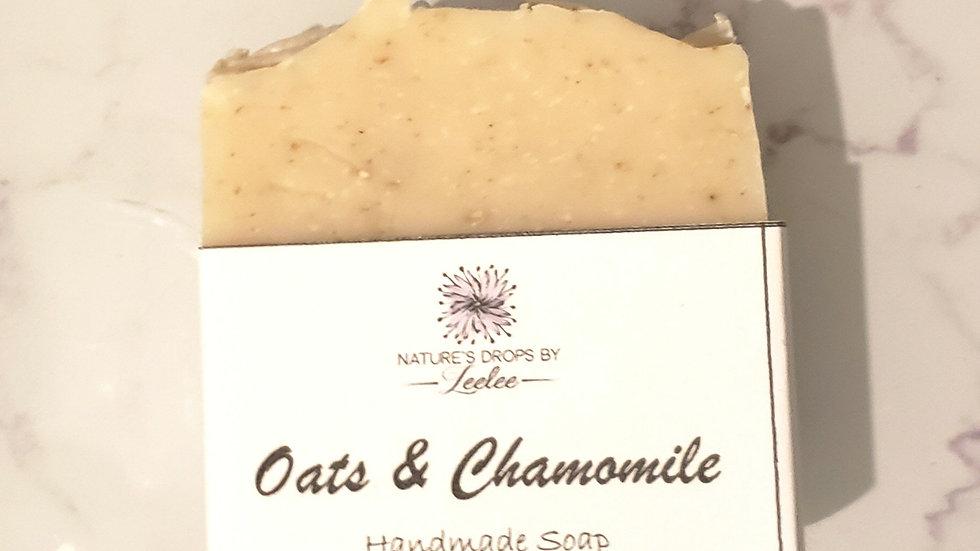 Oats & Chamomile Bar Soap