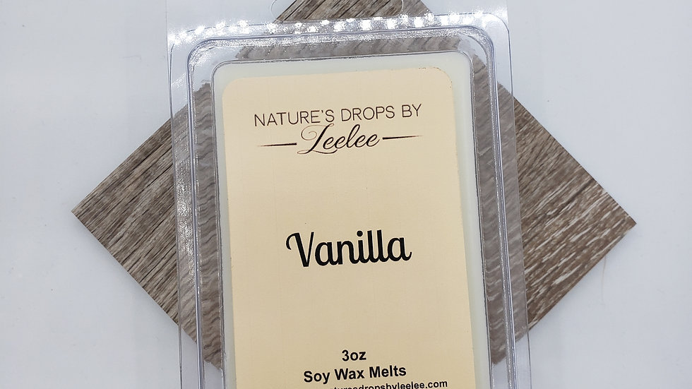Vanilla wax melt