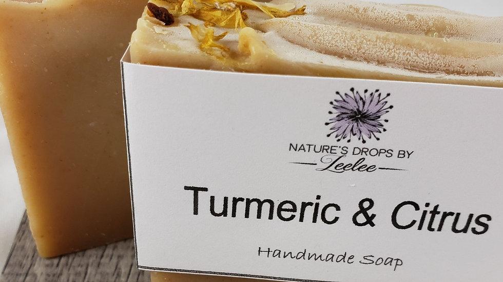 Turmeric & Citrus Bar Soap