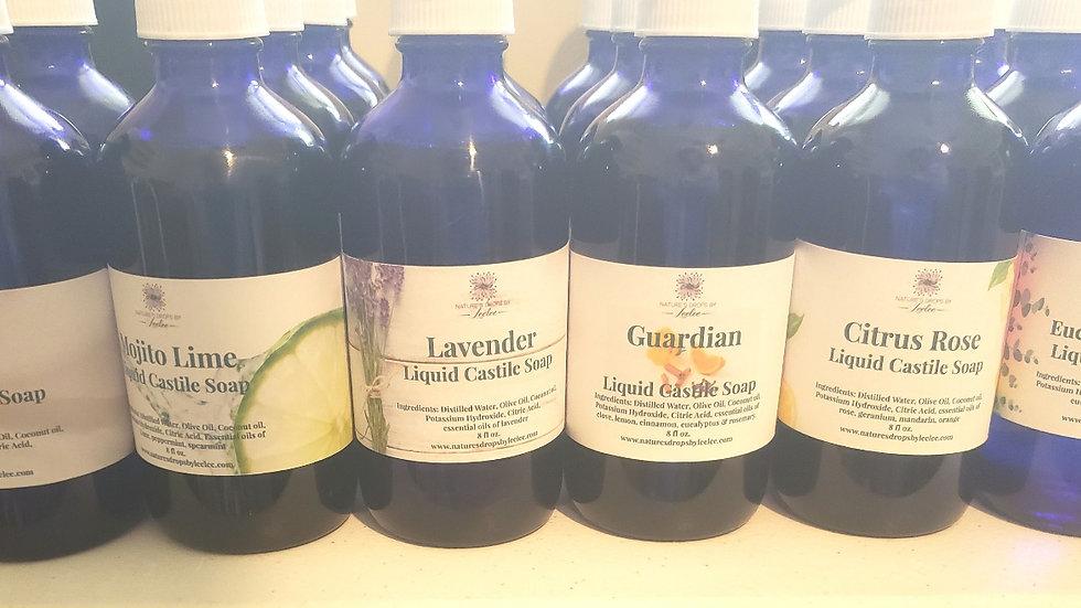 Liquid Castile Soap 8oz