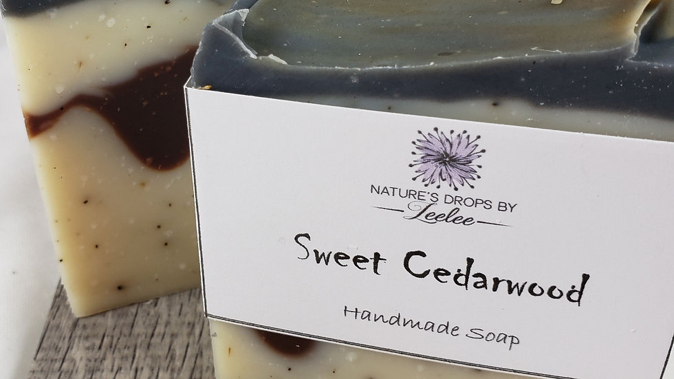 Sweet Cedarwood Bar Soap
