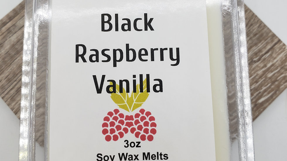 Black Raspberry Vanilla wax melt