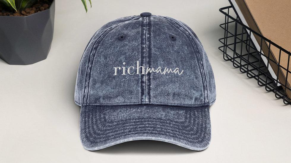Vintage Rich Mama Cap