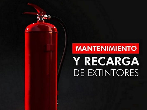 RECARGA DE EXTINTOR