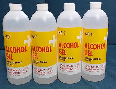 ALCOHOL EN GEL NEX 1100 ML