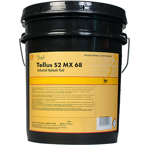 ACEITE HIDRAULICO SHELL S2 MX 68