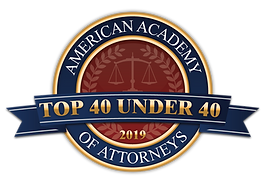 Rocky Elkaddoum was recognized as a Top 40 under 40 Attorney in the field of Divorce and Family Law in 2019