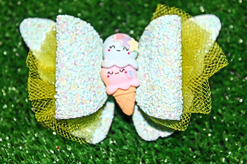 Too Cute Double Scoop Hair bow
