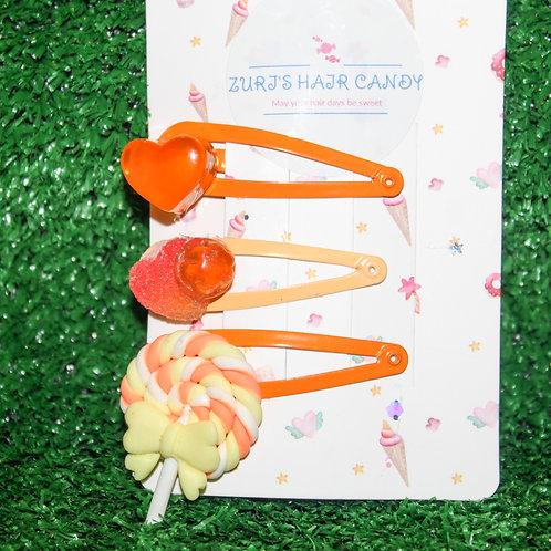 Citrus Sour Patch Clip set (3pcs)