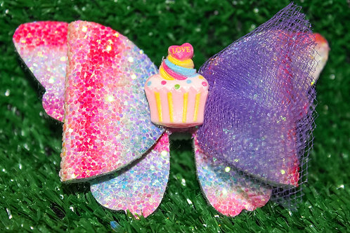 Lil Miss Cupcake Hair bow