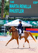 Marta Renilla competing Internationally