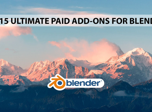 15 Ultimate paid add-ons for Blender.