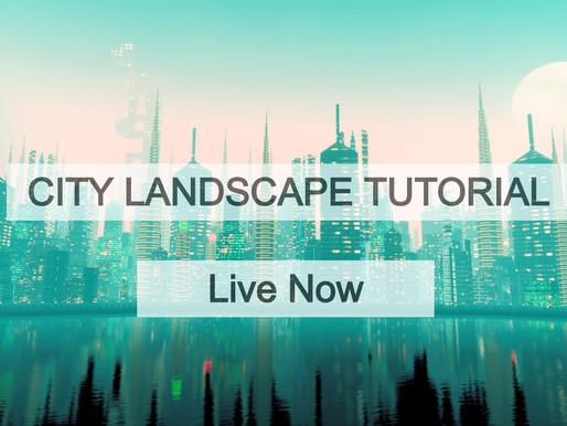 City landscape file Tutorial Released!