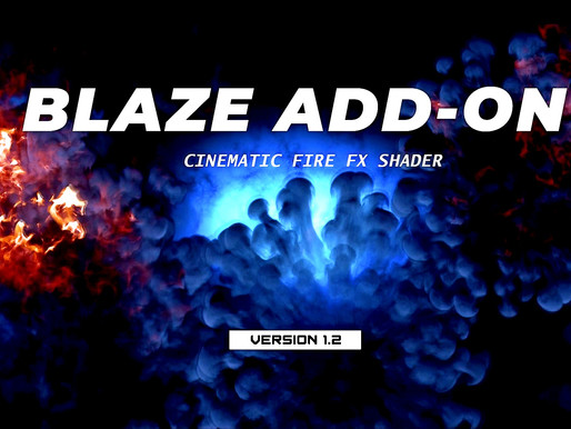 Blaze Add-on Version 1.2 Released
