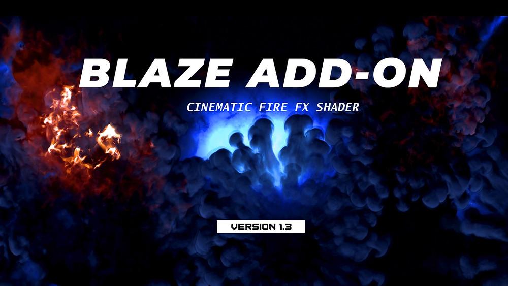 Blaze add-on Poster