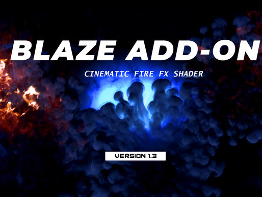 Blaze Add-on Version 1.3 Released!