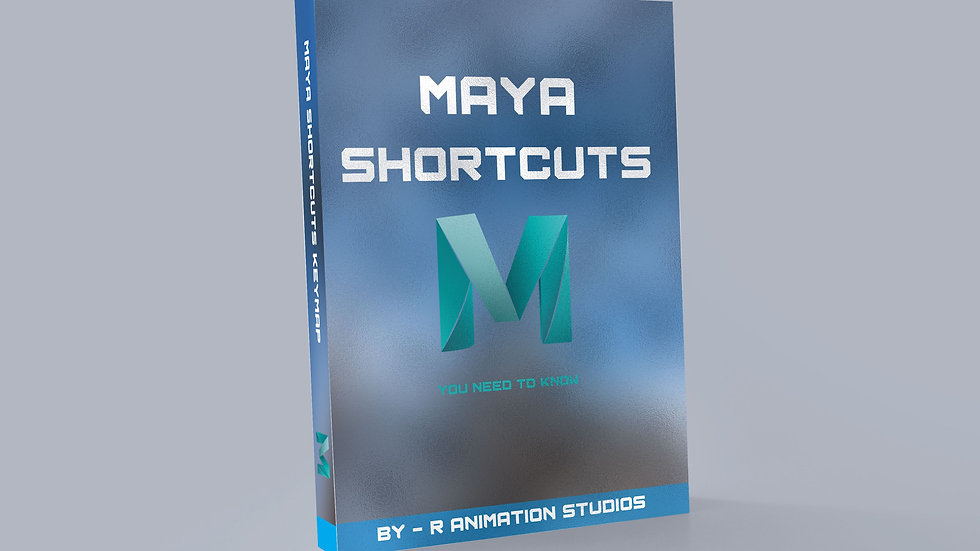 MAYA Shortcuts Keymap