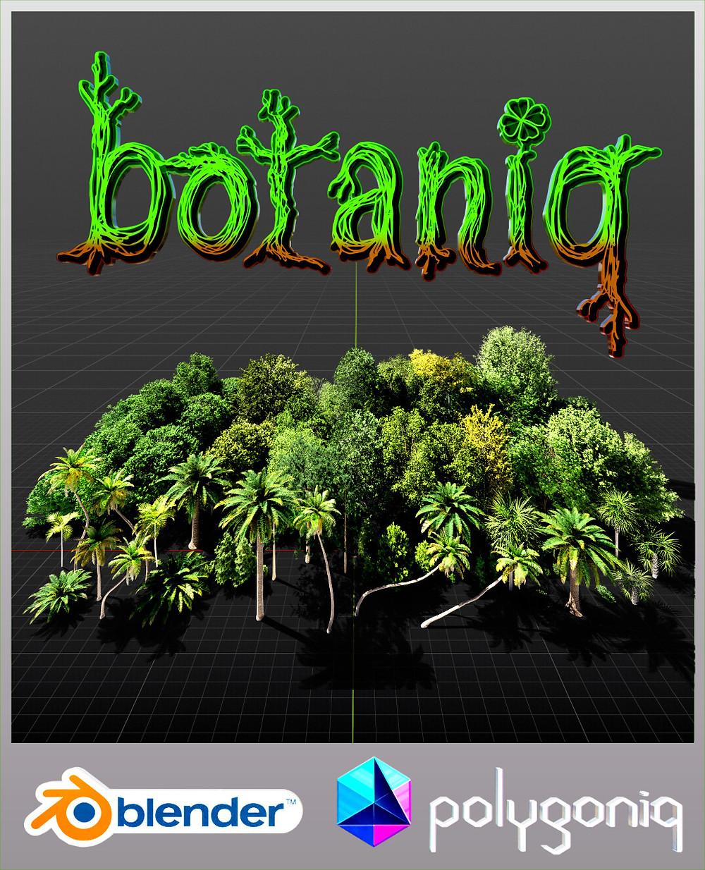 Botaniq poster