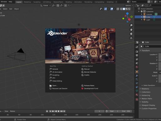 Blender 2.81 Released