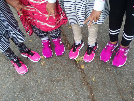 Making strides in Girls on the Run