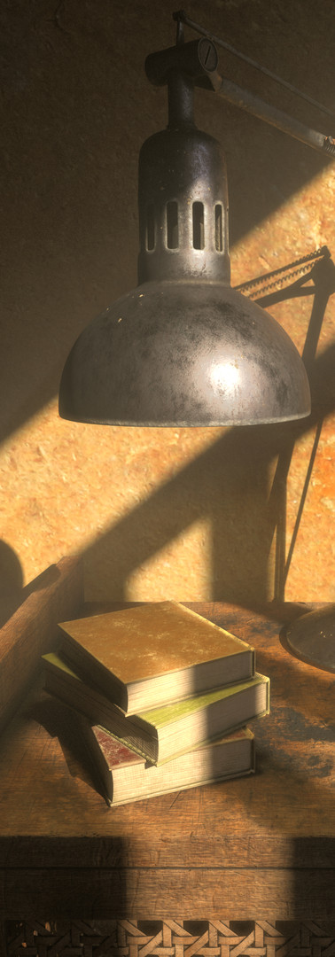 3D - Fictional Lamp