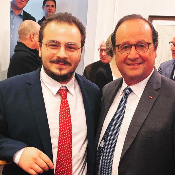 Visit of François Hollande