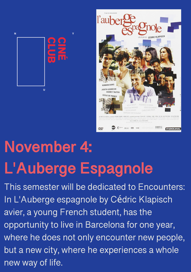 NYU Ciné Club is hosting their monthly movie night at 5 Washington Place Room 101 !