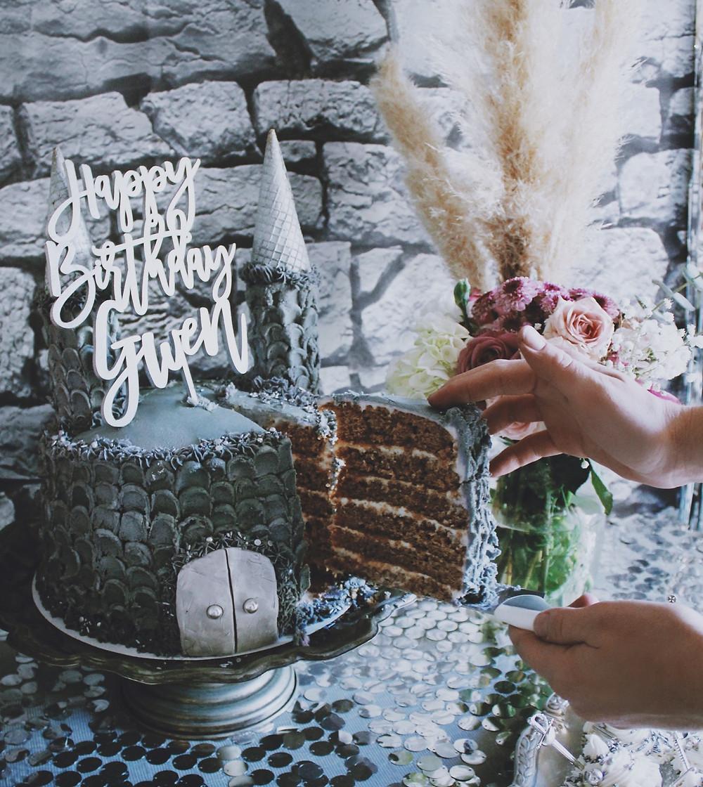 Groovy Glam Medieval Birthday Party Funny Birthday Cards Online Overcheapnameinfo