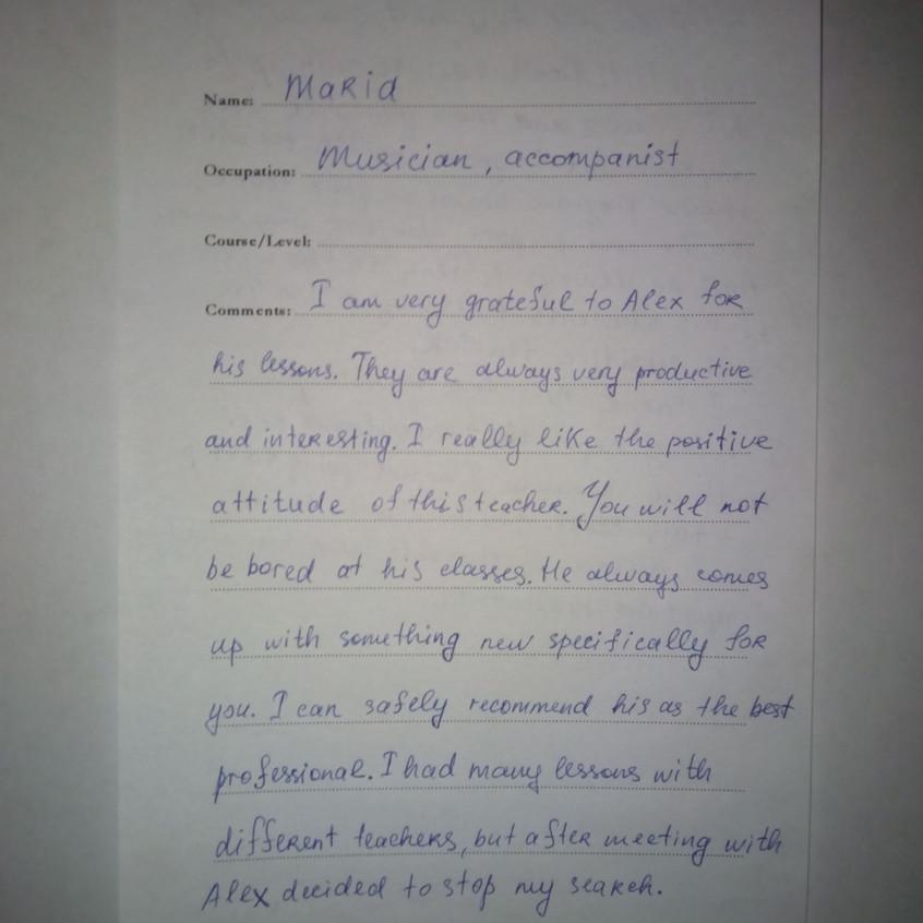 Репетитор по английскому Алекс - Отзывы(9)