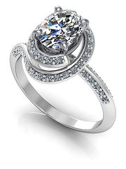 design your own glamourous engagement ring
