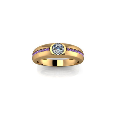 CLASSIC BEZAL SET SOLITAIRE RING