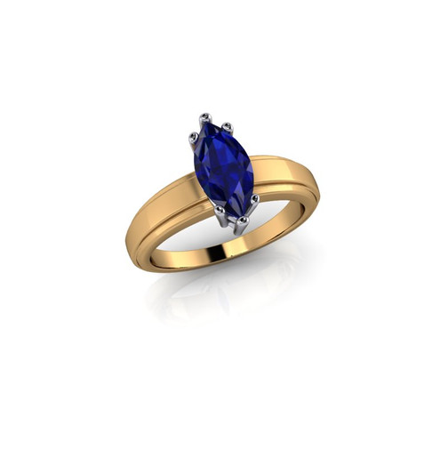 MARQUISE RUBY SOLITAIRE RING