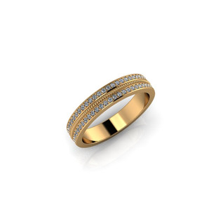 GOLD PAVE BAND