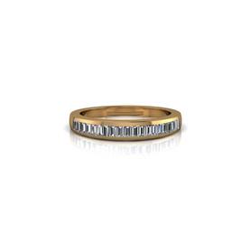 CHANNEL-SET DIAMOND BAND RING