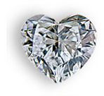 Heart shaped diamond for your custom ring