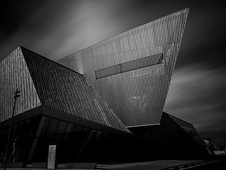 black-and-white-architectural-photograph