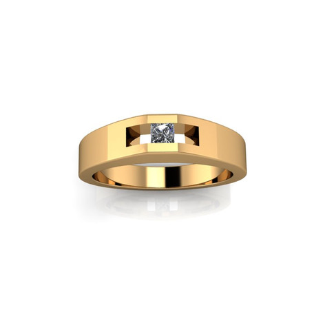 MEN'S SOLO DIAMOND RING
