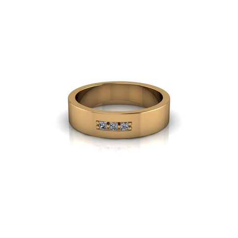 MEN'S WIDE WEDDING BAND